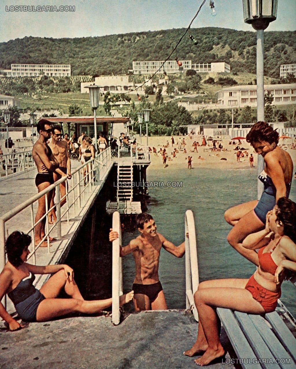 Златни пясъци, 1960 г.